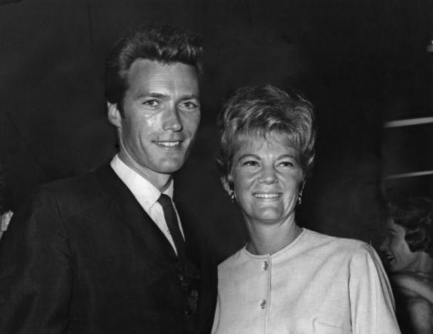 Клинт Иствуд с первой женой Мэгги Джонсон, 1960 год