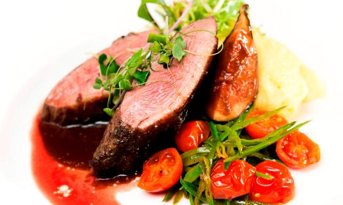 Znalezione obrazy dla zapytania: Ресторанные блюда на своей кухне