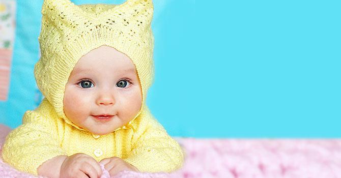 Когда у детей меняется цвет глаз