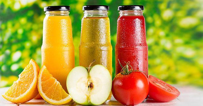 Хранение свежевыжатых соков