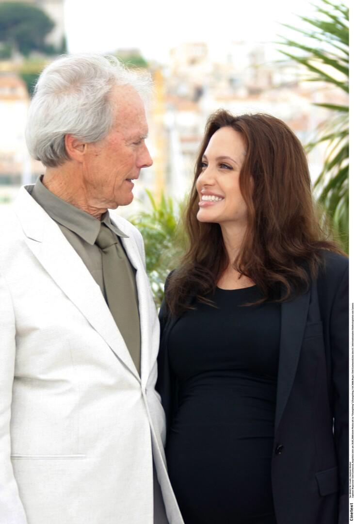 Клинт Иствуд и Анджелина Джоли, 2008 год
