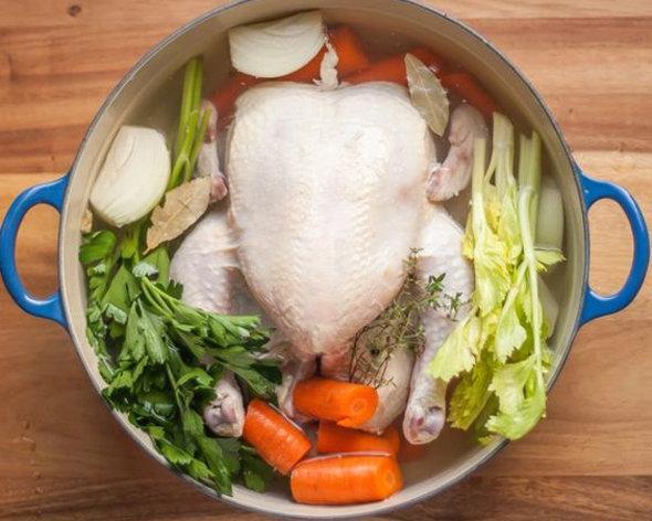 Куриный бульон супового набора
