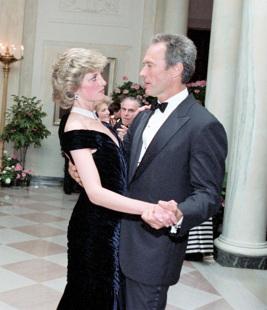Принцесса Диана и Клинт Иствуд, 1985 год