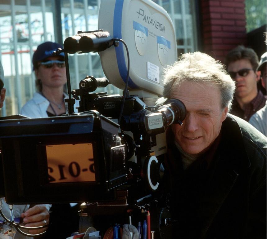 Клинт Иствуд на съемочной площадке, 1992 год
